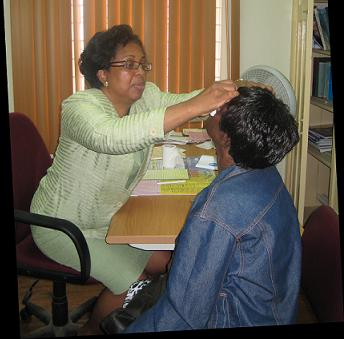 Dr. Marlene Smith-Day, Consultant Opthalmologist, Mandeville Regional Hospital
